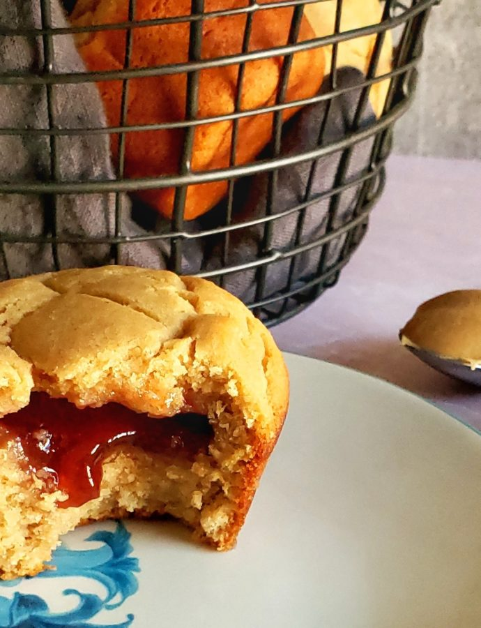 Peanut Butter & Jelly Muffins