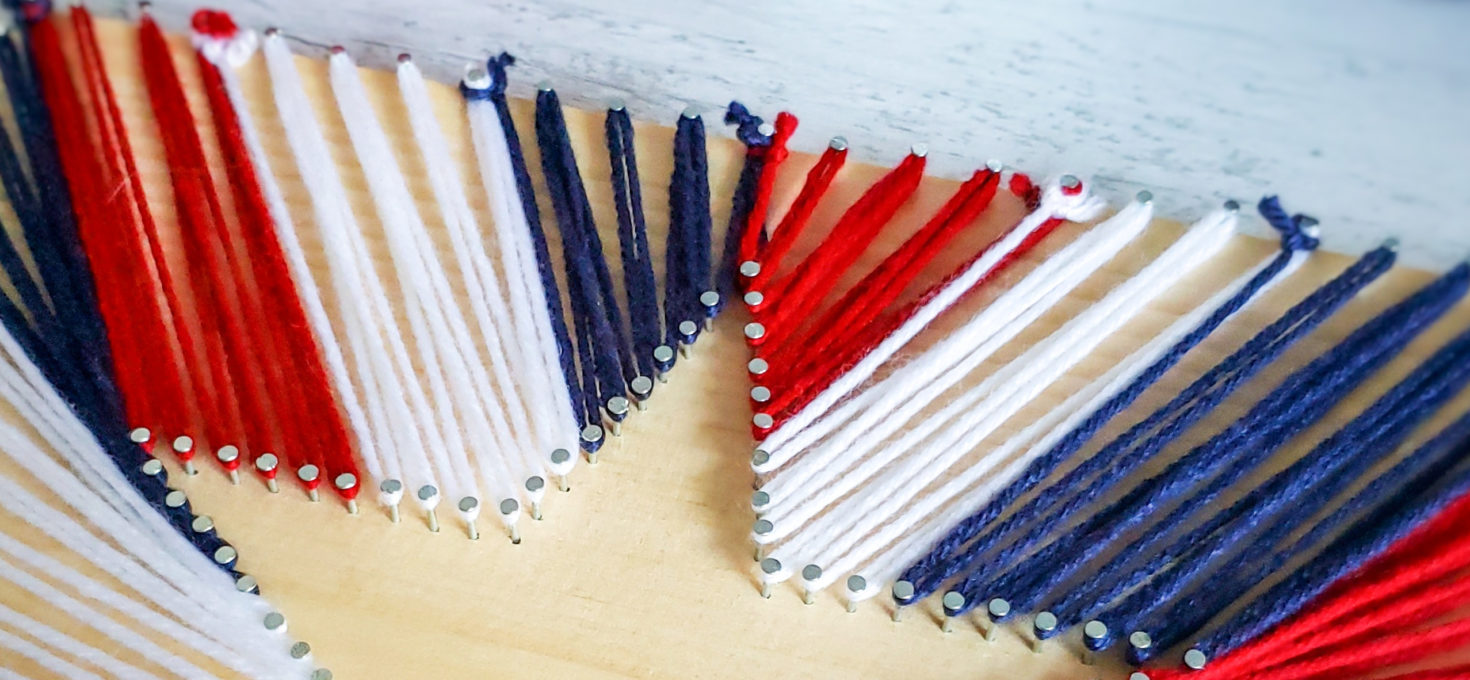 4th of July Star String Art