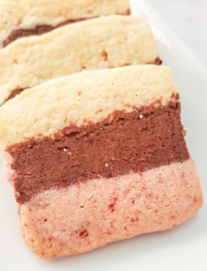 Neapolitan Sugar Cookies