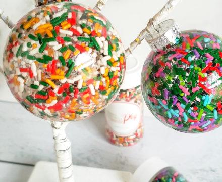 Christmas Sprinkle Ornaments #2