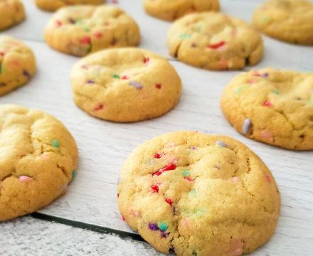 Peanut Butter Confetti Cookies