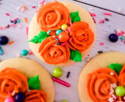 Blood Orange Sugar Cookies