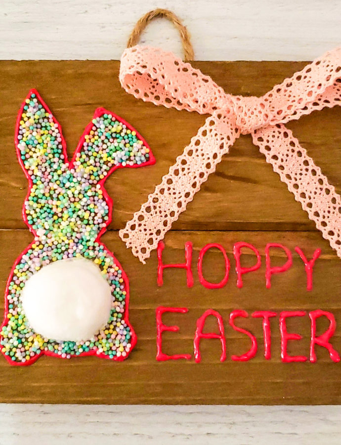 Sprinkle Bunny Sign