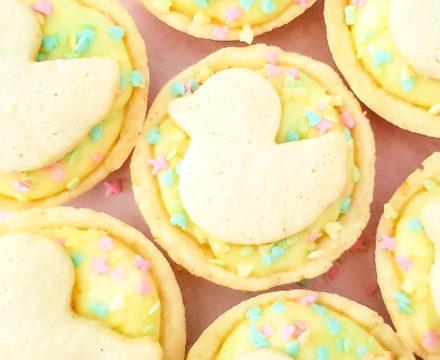 Mini Lemon Cookie Pudding Pies