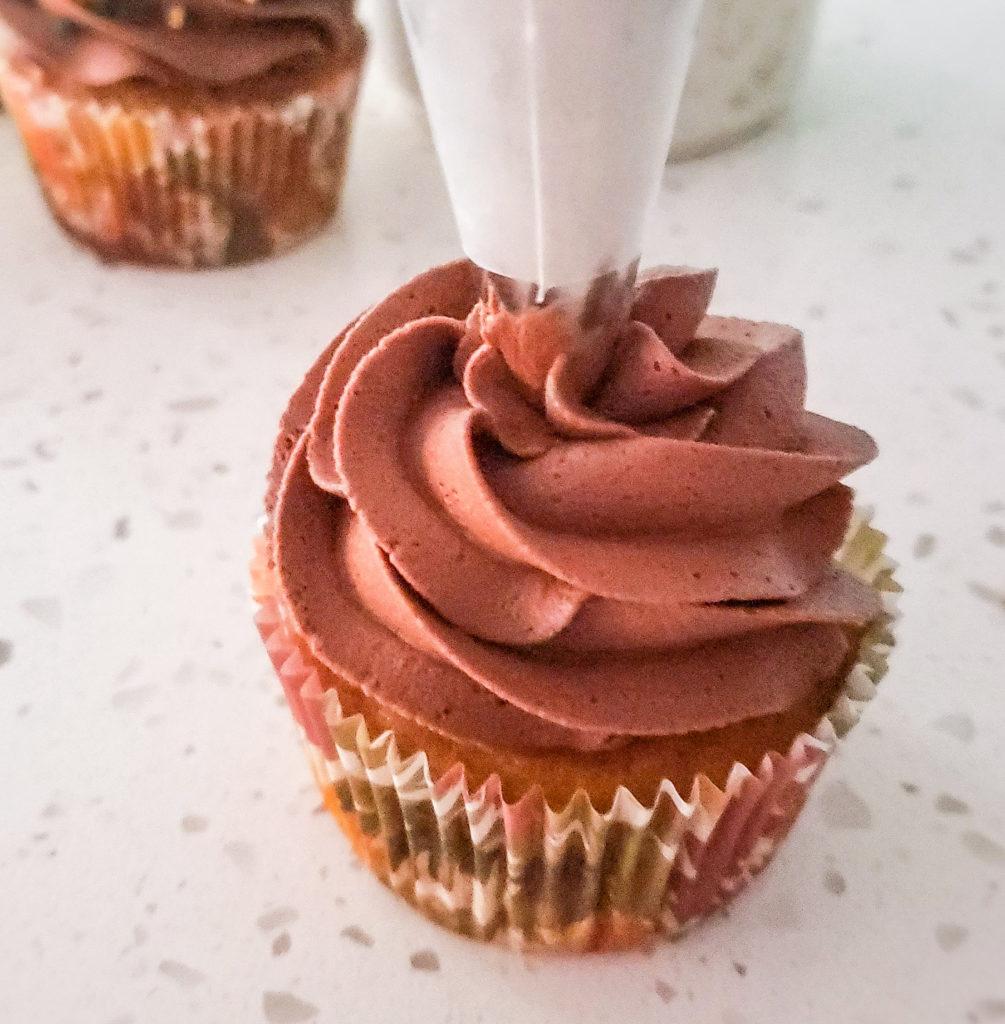 how to make turkey cupcakes